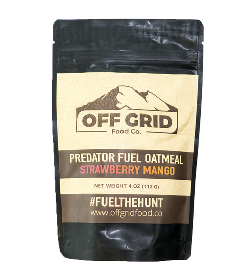 Predator Fuel Oatmeal - Strawberry Mango
