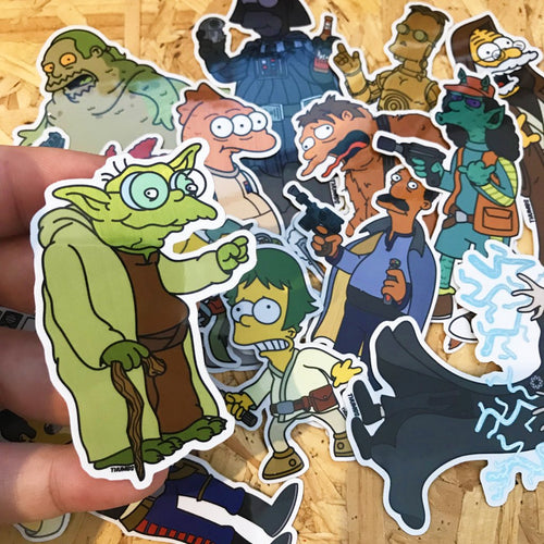 Springfield Wars Sticker Set
