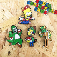 Miluigi Super Springfield Bros Pin Badge