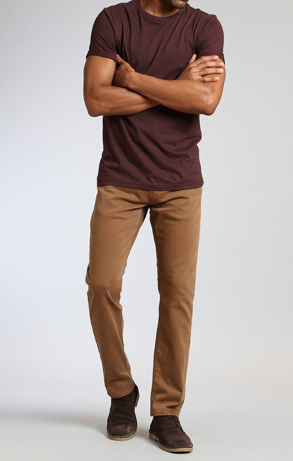 MARCUS SLIM STRAIGHT LEG IN TOFFEE WASHED COMFORT - Mavi Jeans