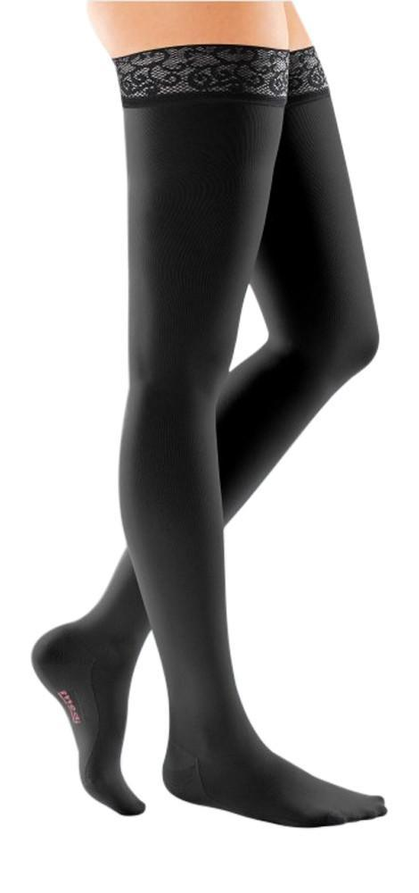 Mediven Comfort 20-30 mmHg Thigh High w/ Lace Silicone Top Band