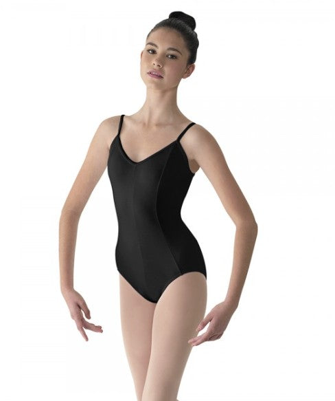 Leotard - Mirella Nylon/Spandex Princess-Seam Camisole Close-out