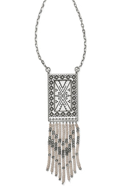 Africa Stories Beaded Fringe Necklace