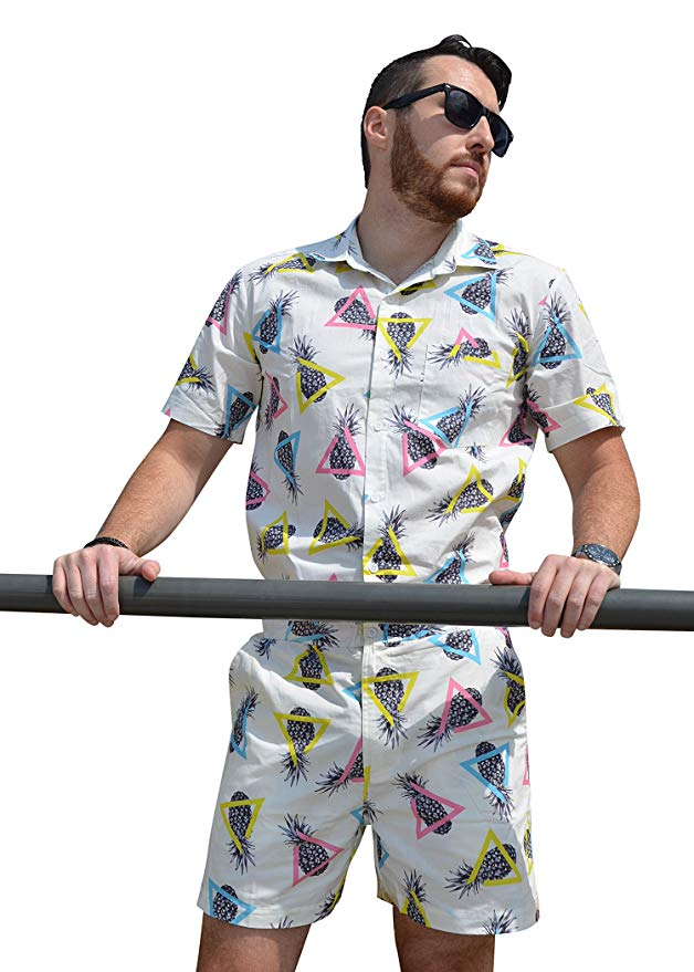 Male Romper - Pineapples