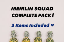 Discount! MEIRLIN SQUAD COMPLETE PACK [T-Shirt x Mask x Hat Set]