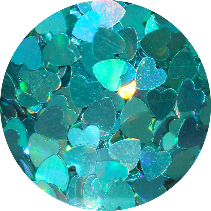 Holographic Heart | Body & Hair Glitter | 12 Colors To Pick From