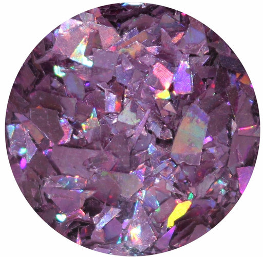 Jabberwocky Museum Body Glitter Pot Purple Holographic Mylar Shred Flake Large Huge Chunky Body Glitter