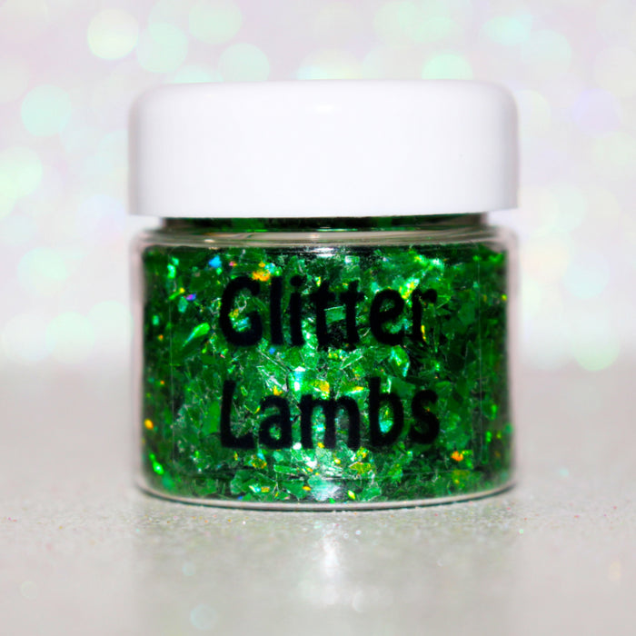 "Glitter Lambs ""You Talking Trash?"" Body Glitter by GlitterLambs.com 