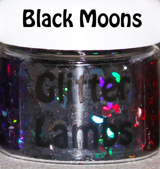 Holographic Moon | Body & Hair Glitter | 12 Colors To Pick From