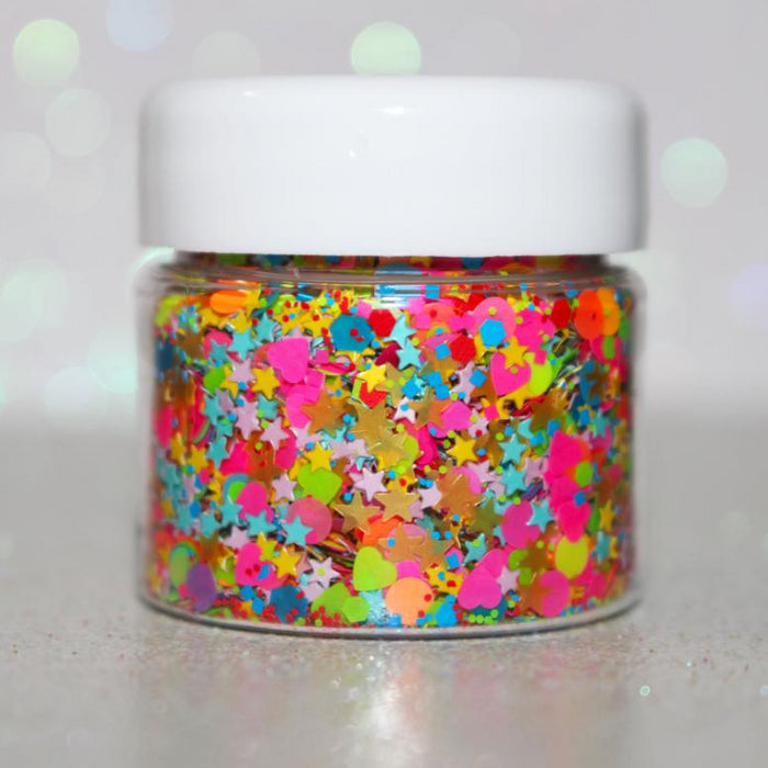 "Glitter Lambs ""Rainbow Road"" Body Glitter by GlitterLambs.com"