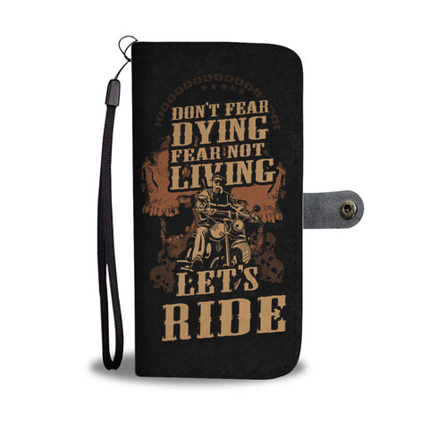 Biker Let's Ride Wallet Phone Case - Mix Web Shop