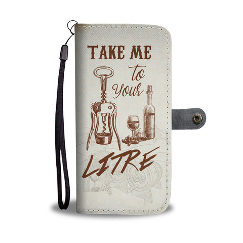 Wine Lover Wallet Phone Case - Mix Web Shop