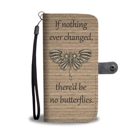 Butterfly Lover Wallet Phone Case - Mix Web Shop