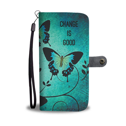 Butterfly Change Wallet Phone Case - Mix Web Shop