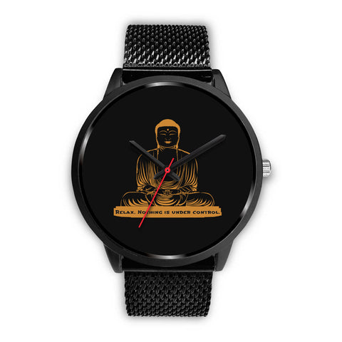 Buddha Quotes Custom-Designed Watch