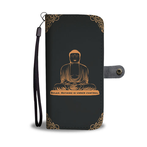 Buddha Quotes Wallet Phone Case