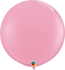Pink 3ft Round Balloons
