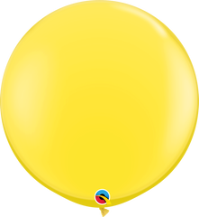 Yellow 3ft Round Balloons