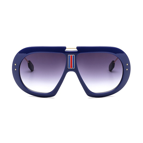 The First Class Pilot Sunglasses Blue - Youthly Labs