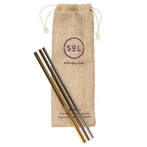 SoL Stainless Steel Straw Kit from One Less
