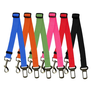 Adjustable Dog Car Safety Belt Harness