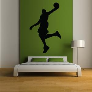 OnDecal Basketball Dunk Silhouette Wall Decal