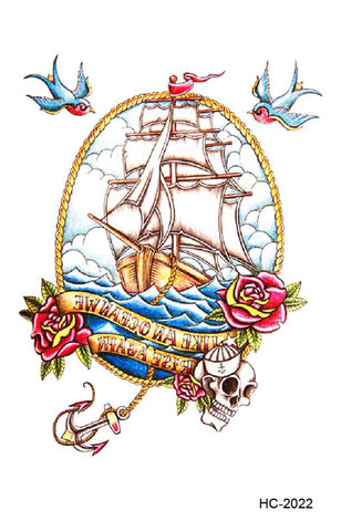 OnDecal Ship Temporary Tattoo