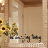 OnDecal Inspirational Mirror Decal