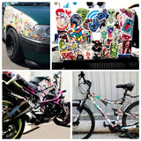 OnDecal 50 pcs Mixed Cartoon Stickers