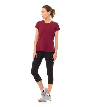 Esprit T-Shirt - Plum , Tops  - Life By Equipe