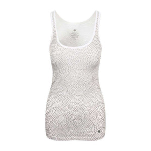 Chakra Energy Tank Top in Grey , Tops  - Life By Equipe