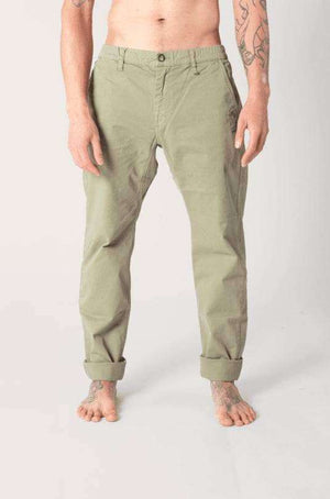 Twill Longs - Men's Yoga Pants - Olive , Bottoms  - Life By Equipe