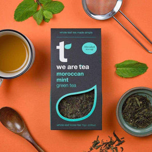 Moroccan Mint Loose Leaf Tea - We Are Tea , Tea  - Life By Equipe
