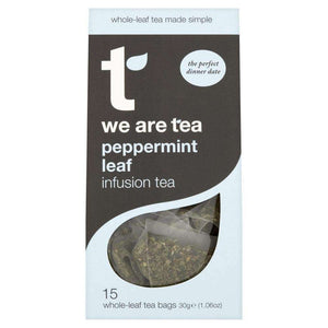 Peppermint Whole Leaf Tea Bags - We Are Tea , Tea  - Life By Equipe