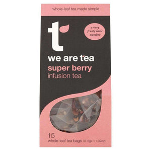 Super Berry Whole Leaf Tea Bags - We Are Tea , Tea  - Life By Equipe