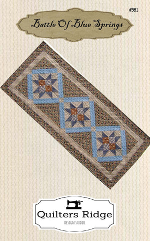Battle Of Blue Springs Table Runner