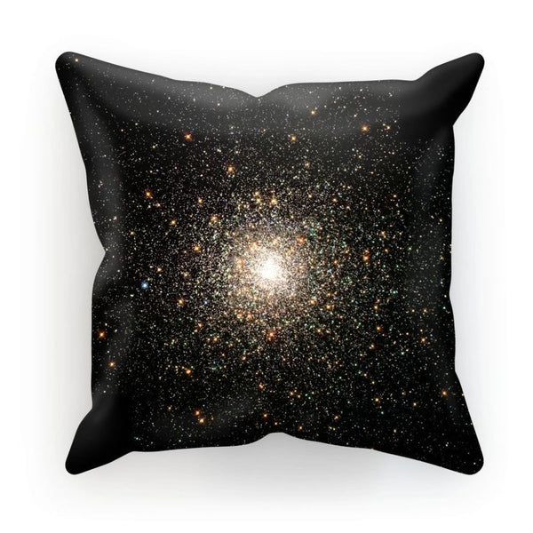 Galaxy Surrounded With Stars Cushion Linen / 12X12 Homeware