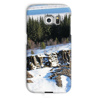 Ice Frozen On Rocky Mountain Phone Case Galaxy S6 Edge / Snap Gloss & Tablet Cases