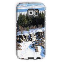 Ice Frozen On Rocky Mountain Phone Case Galaxy S6 Edge / Tough Gloss & Tablet Cases