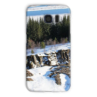 Ice Frozen On Rocky Mountain Phone Case Galaxy S6 / Snap Gloss & Tablet Cases