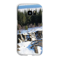 Ice Frozen On Rocky Mountain Phone Case Galaxy S7 Edge / Snap Gloss & Tablet Cases