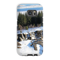 Ice Frozen On Rocky Mountain Phone Case Galaxy S7 Edge / Tough Gloss & Tablet Cases