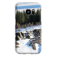 Ice Frozen On Rocky Mountain Phone Case Galaxy S7 / Snap Gloss & Tablet Cases