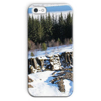 Ice Frozen On Rocky Mountain Phone Case Iphone 5/5S / Snap Gloss & Tablet Cases