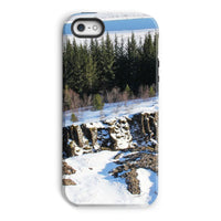 Ice Frozen On Rocky Mountain Phone Case Iphone 5/5S / Tough Gloss & Tablet Cases