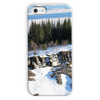 Ice Frozen On Rocky Mountain Phone Case Iphone 5C / Snap Gloss & Tablet Cases