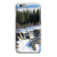 Ice Frozen On Rocky Mountain Phone Case Iphone 6 Plus / Snap Gloss & Tablet Cases