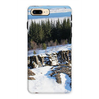 Ice Frozen On Rocky Mountain Phone Case Iphone 7 Plus / Tough Gloss & Tablet Cases