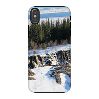 Ice Frozen On Rocky Mountain Phone Case Iphone X / Tough Gloss & Tablet Cases