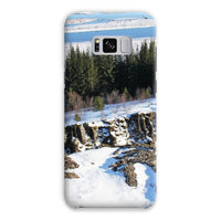 Ice Frozen On Rocky Mountain Phone Case Samsung S8 Plus / Snap Gloss & Tablet Cases